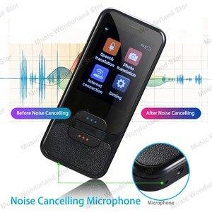 Image 4 - Touch Screen Smart Taal Vertaler 2.4 Inch WiFi Draagbare Voice Foto Vertaling meertalige Vertaler Met Mic Speaker