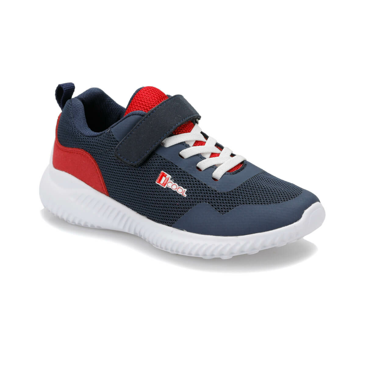 FLO CUBA Navy Blue Male Child Hiking Shoes I-Cool