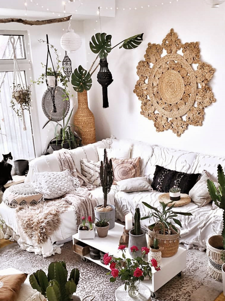Handmade Tapestry Handmade Tapestry India Imported Jute Carpet Bohemian