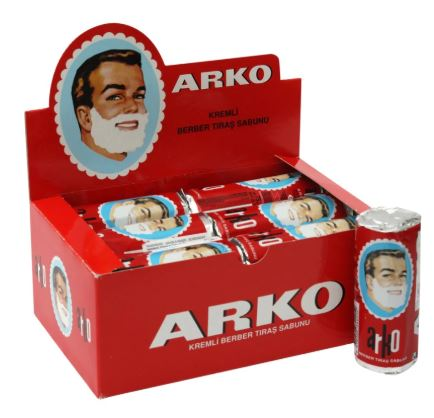 Arko Stick Shaving Soap 75 Gr X 10 Pcs Stick Barbers Choice For Traditional Shave BEST