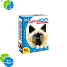 Доктор Зоо Витамины Здоровый иммунитет для кошек 90 таб