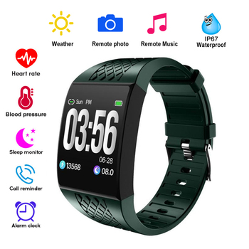 Large Curved Screen Smart Wristbands Fitness Bracelet Tracker Remote Control Camera Music Band Watch Ergonomic Design New