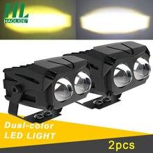 HAOLIDE светодиодный рабочий светильник 12V 24V Автомобильный светодиодный бар 3 дюймов внедорожный светодиодный противотуманный фонарь белого ...