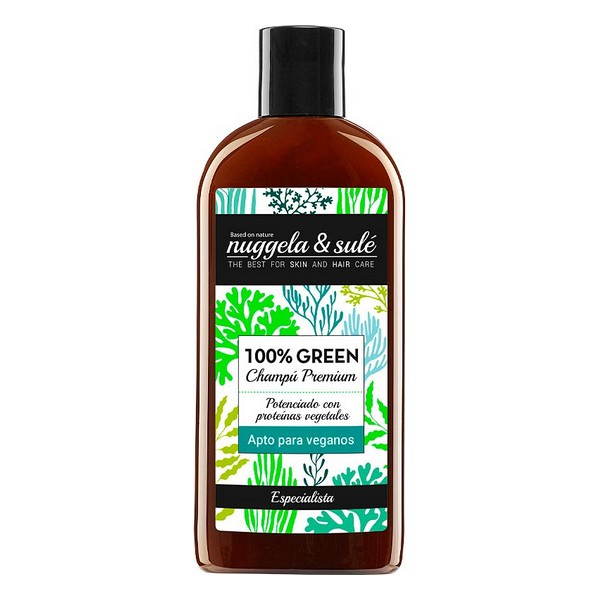 Moisturizing Shampoo Green Nuggela & Sulé (250 Ml)