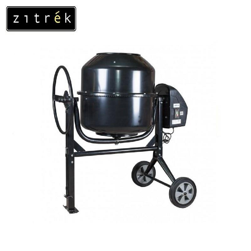 Concrete mixer Zitrek Z140 Job mixer Drum mixer Revolving-drum Tilting concrete Mixer making concrete mixes Mix fertilizer