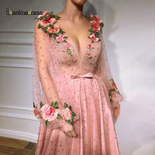 Bbonlinedress элегантное вечернее платье с рукавами 2020 модное