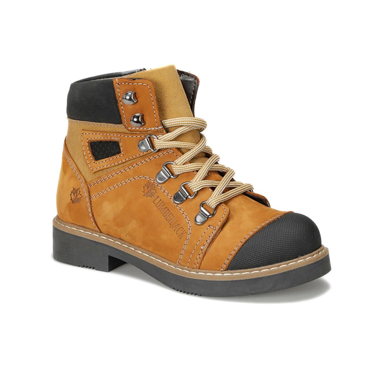 FLO AGATE 9PR Yellow Male Child Boots LUMBERJACK
