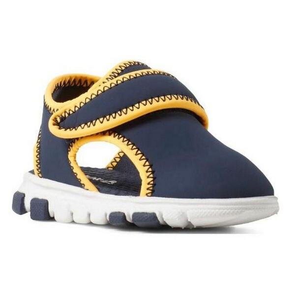 Children's Sandals Reebok WAVE GLIDER III Baby Navy Blue