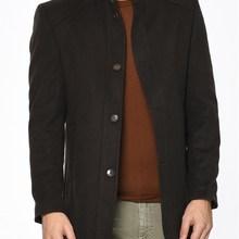 PLT8326 Пальто DEWBERRY-коричневый