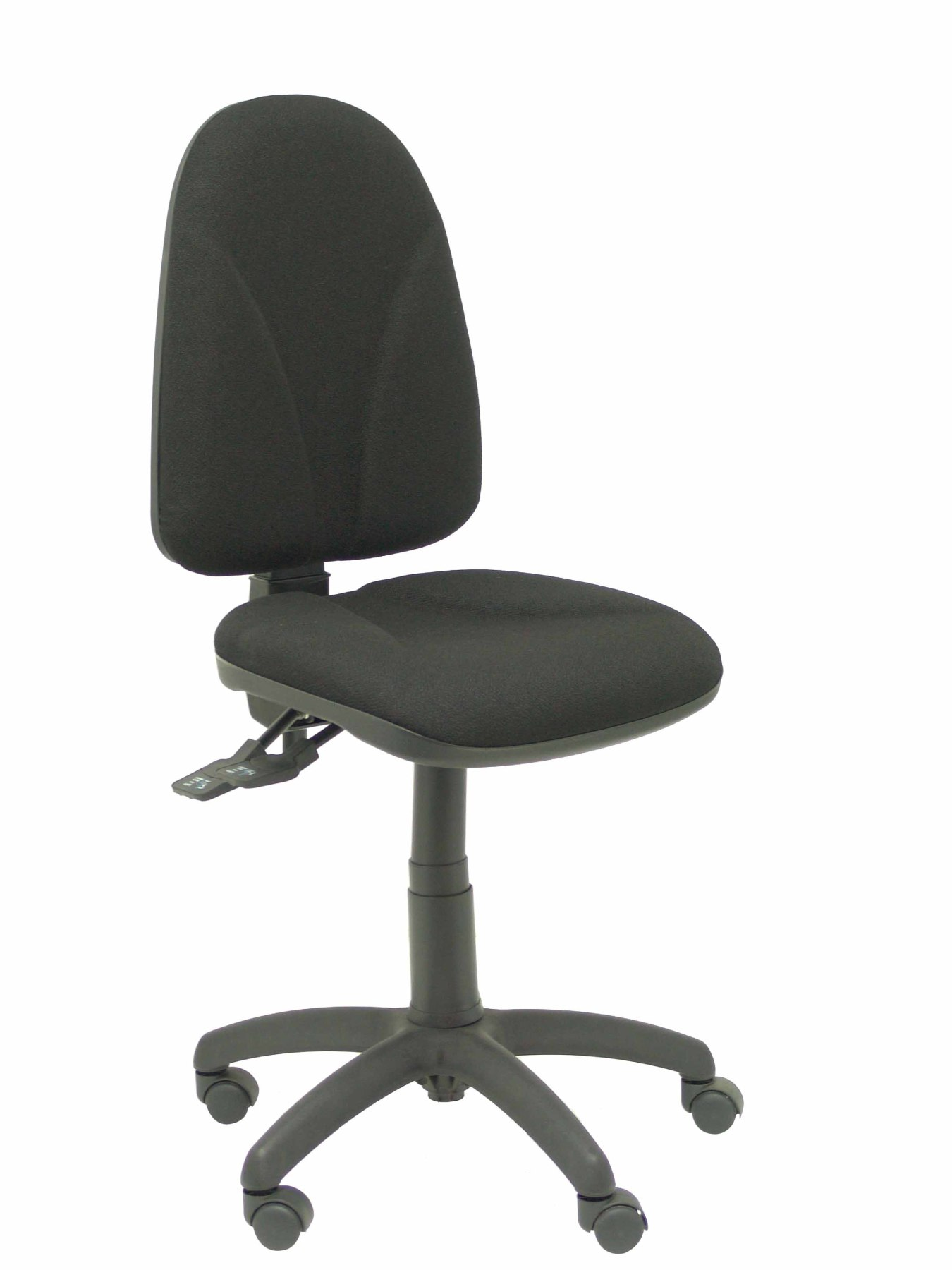 Ergonomic Office Chair With Mechanism Asincro And Adjustable Height-Seat And Back Upholstered In Fabric BALI C