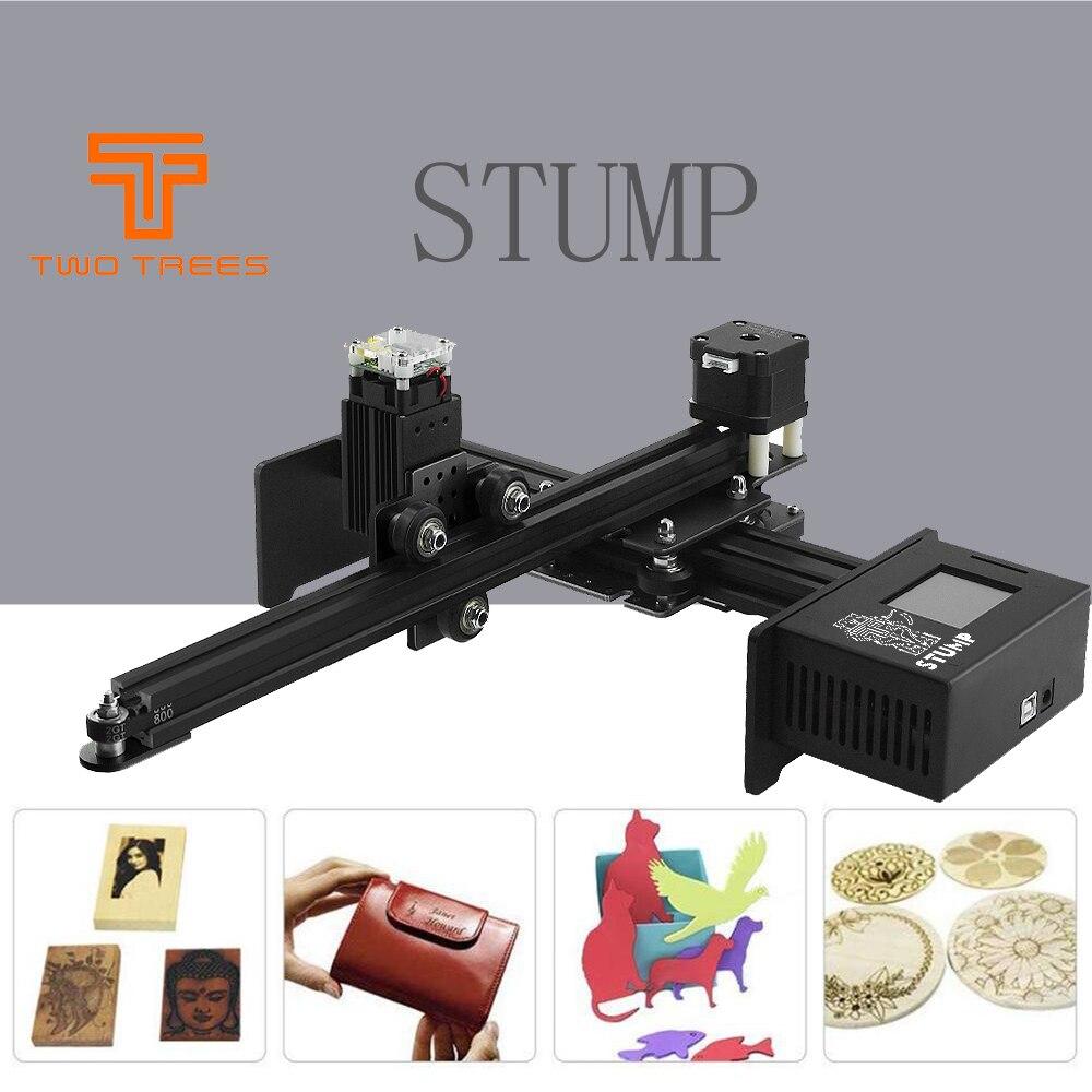 20 w 7000mw cnc gravador a laser máquina de gravura a laser mini gravador a laser impressora portátil casa diy cortador de gravura a laserImpressoras 3D   -