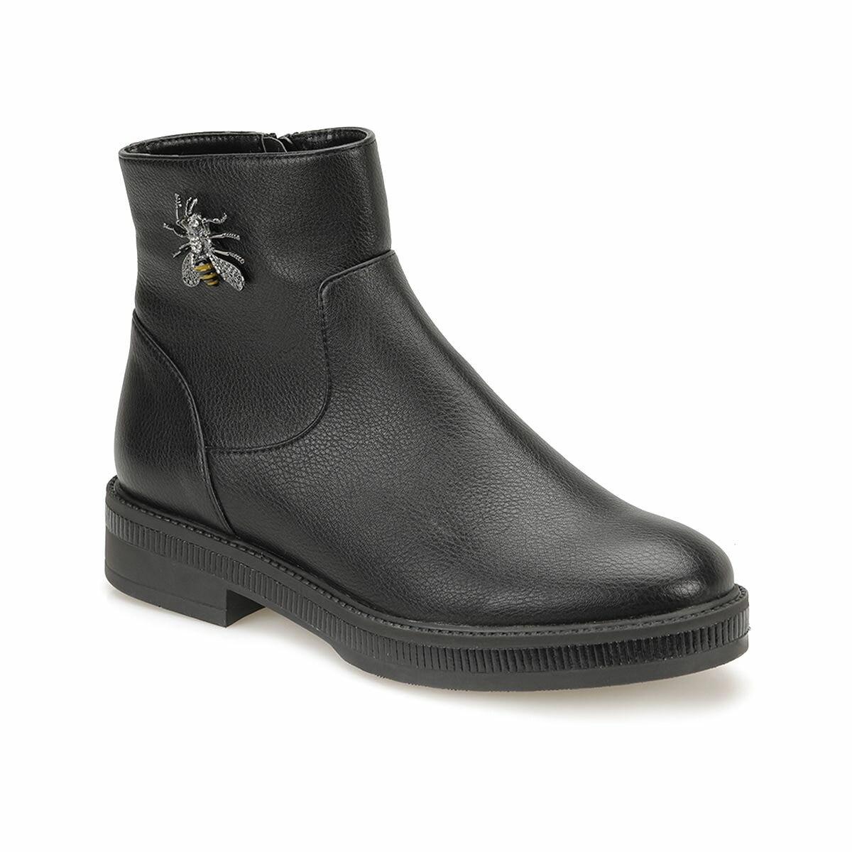 FLO 82. 312319.Z Black Women Boots Polaris