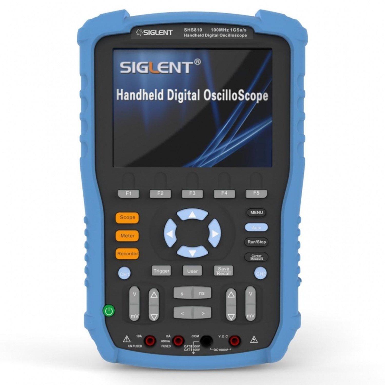 Portable Digital Oscilloscope Siglent SHS806 60mhz 57 siglent 28m deep memory sds2074 super phosphor oscilloscope 70mhz portable oscilloscope 4 channels oscilloscope
