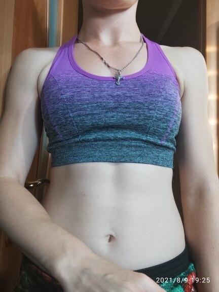 Women's Elastic Fitness Bra photo review