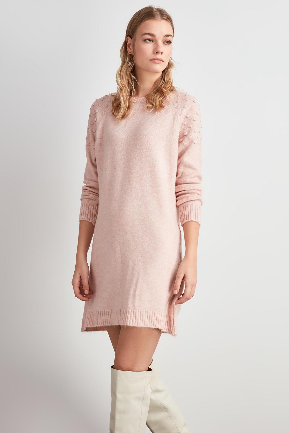 Trendyol Handles Polka Dot Sweater Sweater TWOAW20KZ1438