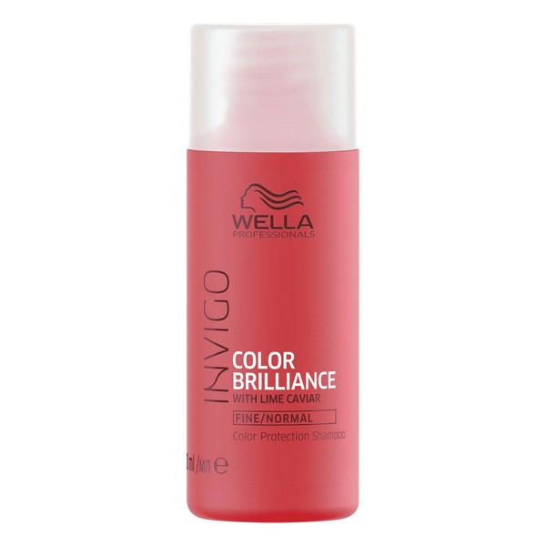 Shampoo Colour Reinforcement Invigo Color Brilliance Wella Travel Size (50 Ml)