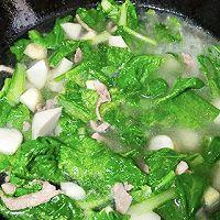 小白菜炖芋头的做法图解6