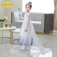 AngelGirl elbise prenses çocuk kız noel cadılar bayramı ve noel parti giysileri Cosplay çocuk giysileri prenses kraliçe elbiseler