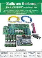 Hohe qualität Konica 1024 Druckkopf Umc Bord Für Konica Lösungsmittel Drucker