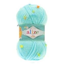 Baby Flower Yarn 5x100gr %6 Polyamid %94 Acrylic DIY Knitting Wrap-Beanie-Sweater...