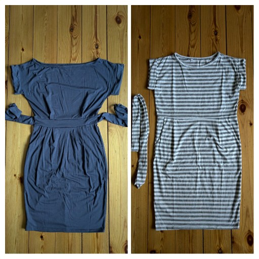 Solid O-neck Short Sleeves Lacing Dresses Women Casual Pockets Simple Dress Summer Ladies Fashion Breathable Dress Vestidos New reviews №1 200798