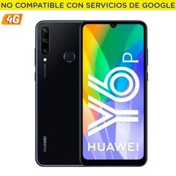Huawei y6p полночь черный мобильный телефон-6,3 ''/16 см-cam (13 + 5 + 2 общее количество)/8mp-oc - 64 Гб-пикселей, 3 Гб оперативной памяти-4g-андроид 10 aosp-