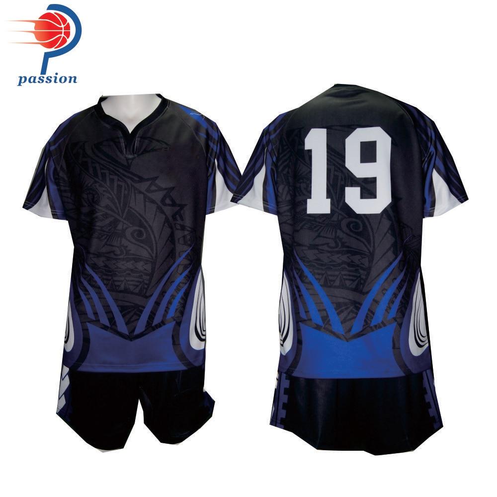 OEM Sublimation Rugby Shirt Custom Name Number