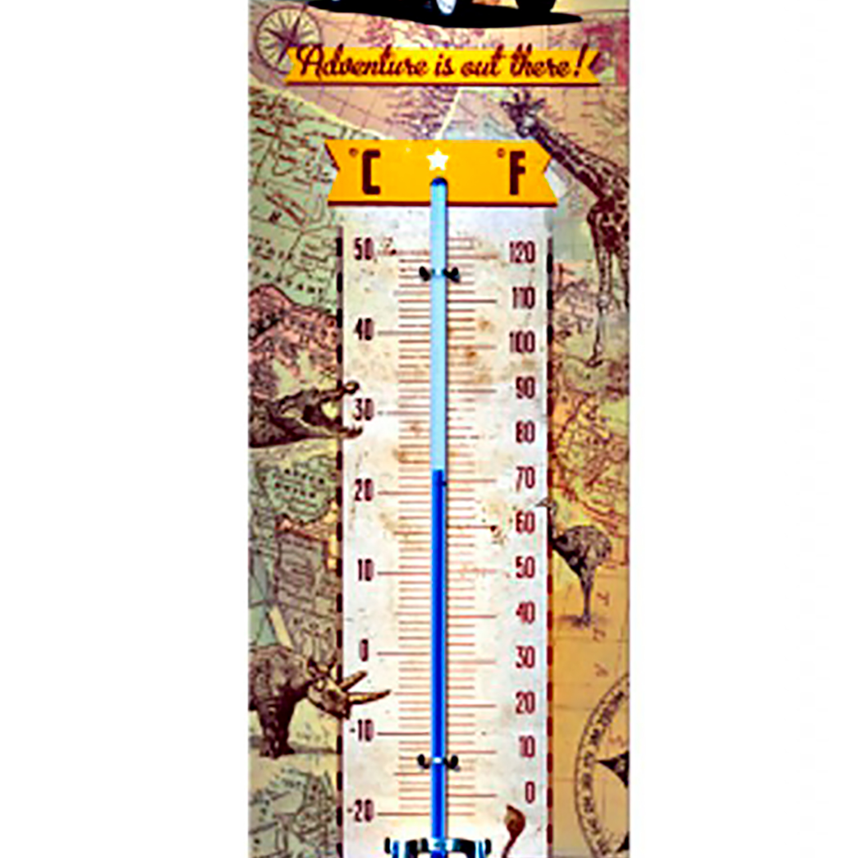Harley Davidson Thermomètre-design vintage-Fahrenheit et Celsius