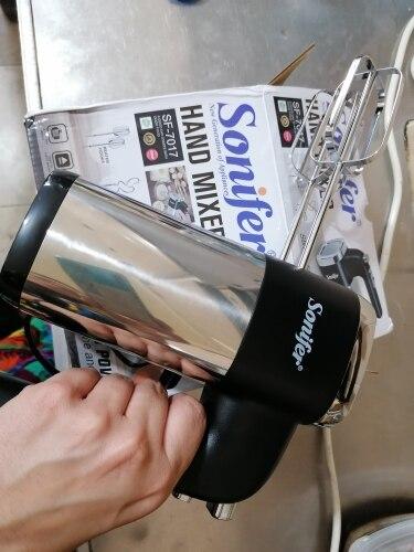 5 Speeds 500W High Power Electric Food Mixer Hand Blender Dough Blender Egg Beater Hand Mixer For Kitchen 220V Sonifer|Food Mixers|   - AliExpress