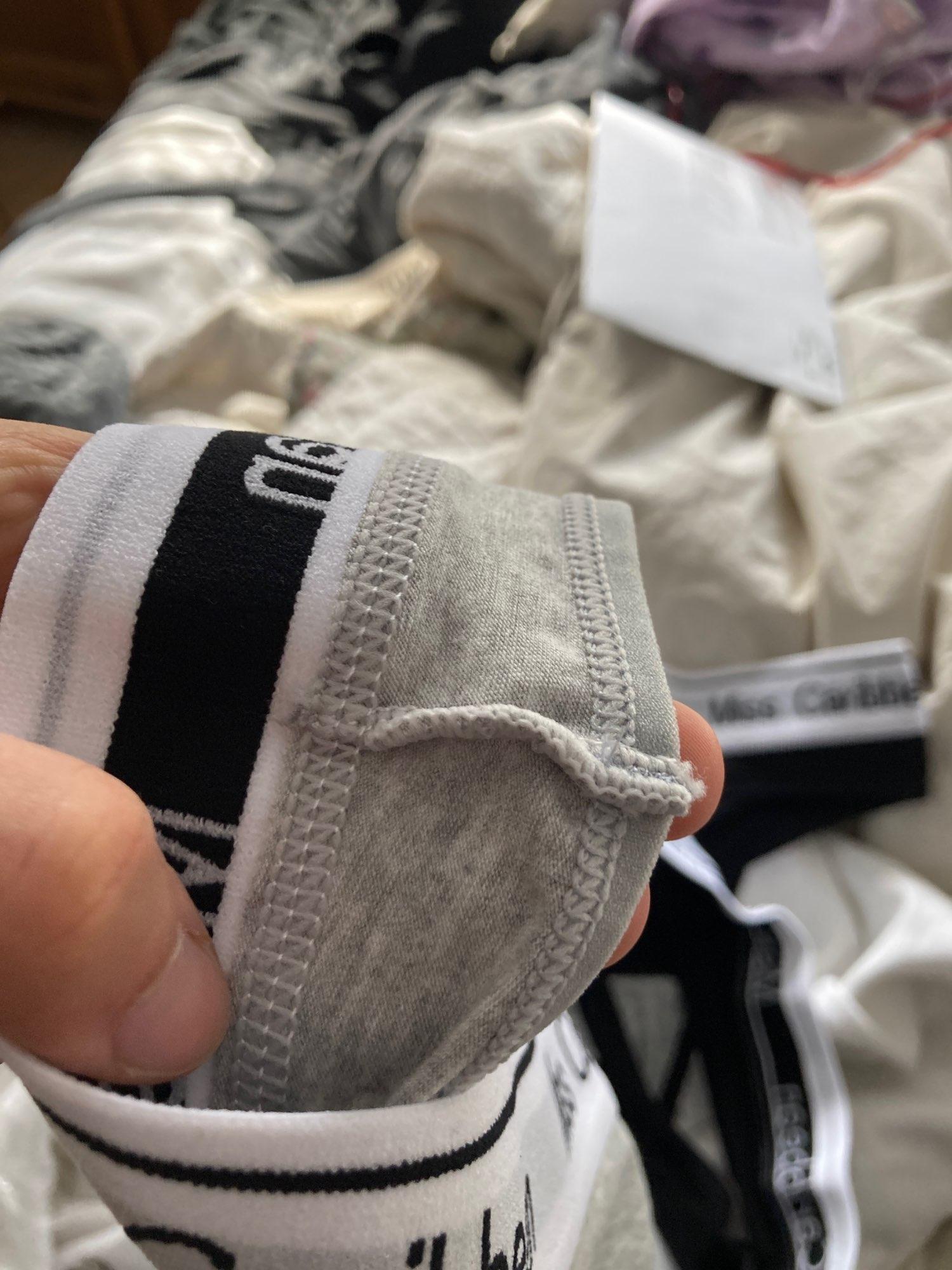 ALLMIX 3Pcs/lot Sexy Women's Cotton Panties Set Underwear Seamless Letter Thongs Low Waist Female Sport G-String Lady Lingerie photo review