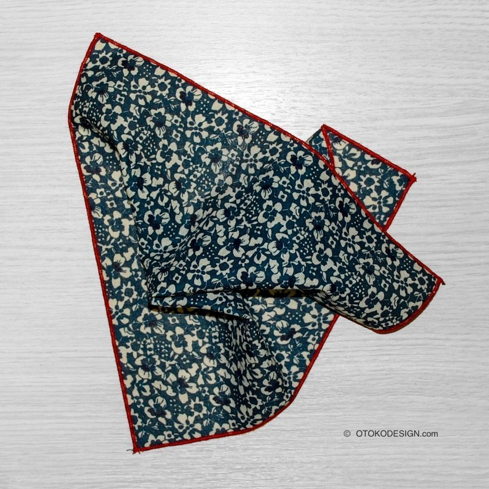 Flower Pocket Square (50202)