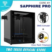 Twotrees 3D 프린터 사파이어 프로 인쇄 마스크 Corexy BMG 압출기 컬러 터치 스크린 재개 정전 인쇄 TMC2208