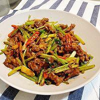 最佳CP——芹菜牛肉丝的做法图解6