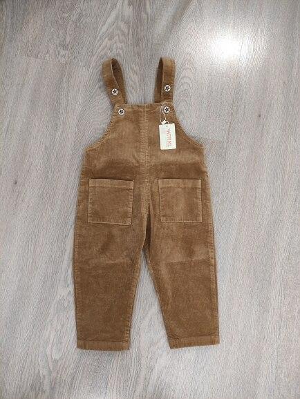 YATFIML Children Kids Pants 0-3Yrs Boys Girls Overalls Corduroy Jumpsuits Romper Infant Clothing Outfits Pants photo review