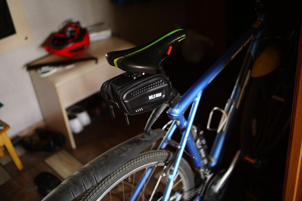 Sac à vélo rigide pour selle arrière