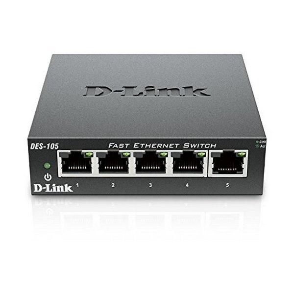 Desktop Switch D-Link DES-105 LAN