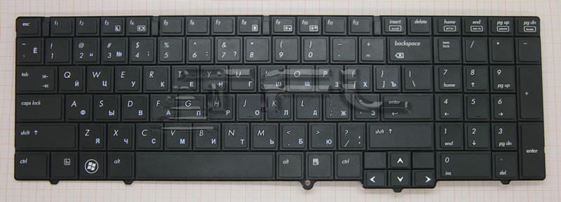 <font><b>Keyboard</b></font> for <font><b>HP</b></font> <font><b>8540p</b></font> image