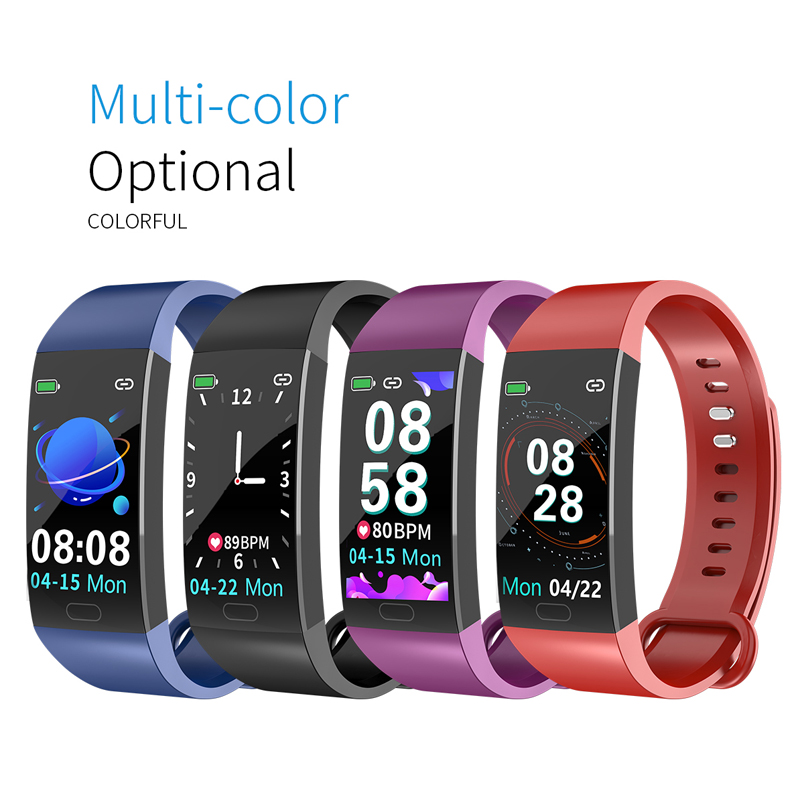 U64b922ad3b2b473098f2cc48da520242r Smart Bracelet Band Measuring Pressure Clock Fitness Bracelet Heart Rate Activity Tracker bracelet smart Wristband Waterproof