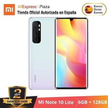 Купить Xiaomi Mi Note 10 Lite (128 ГБ ROM con 6 ГБ RAM, Snapdragon™730G, Nuevo, Móvil) [telefono Versión Global para España] note10