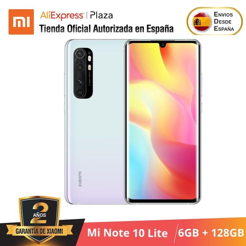 Xiaomi Mi Note 10 Lite (128GB ROM con 6GB RAM Snapdragon™ 730G Nuevo Móvil) [Teléfono Versión Global para España] note10lite