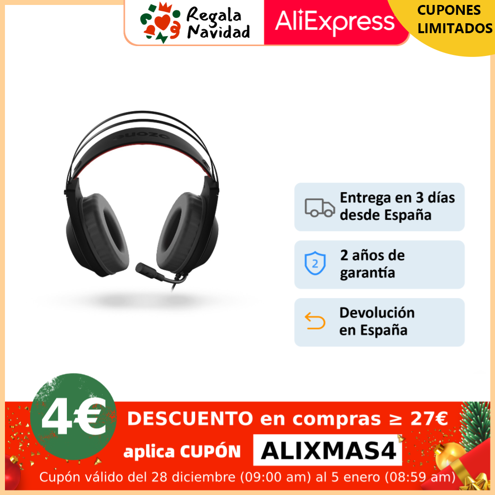 Auricular Gaming OZONE Rage X60 7.1|Productos electroluminiscentes| - AliExpress