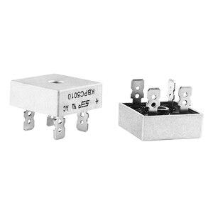 1 шт. KBPC5010 5010 50A 1000V фазный диодный мост выпрямитель Новый и оригинальный