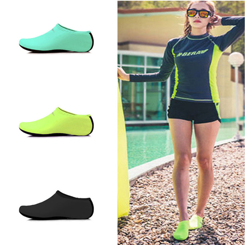 Men Women Water Sport Shoes Mesh Aqua Socks Yoga Exercise Pool Beach Dance Swim Slip Surfing Shoes Beach Shoes Swimming
