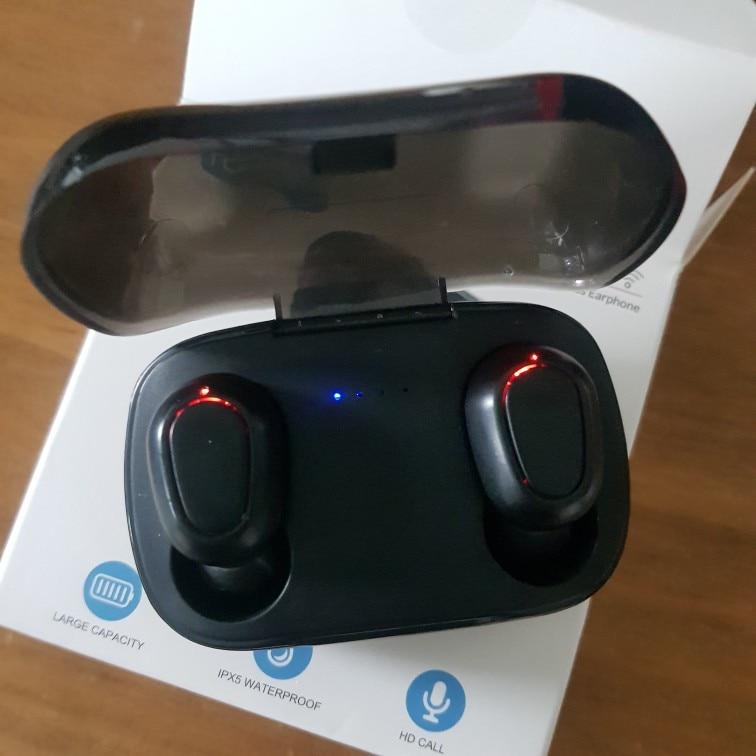 TOPK Wireless headphones TWS Bluetooth v5.0 LED Display Bluetooth Earphone Sports Waterproof earbuds headset Support iOS/Android|Bluetooth Earphones & Headphones|   - AliExpress