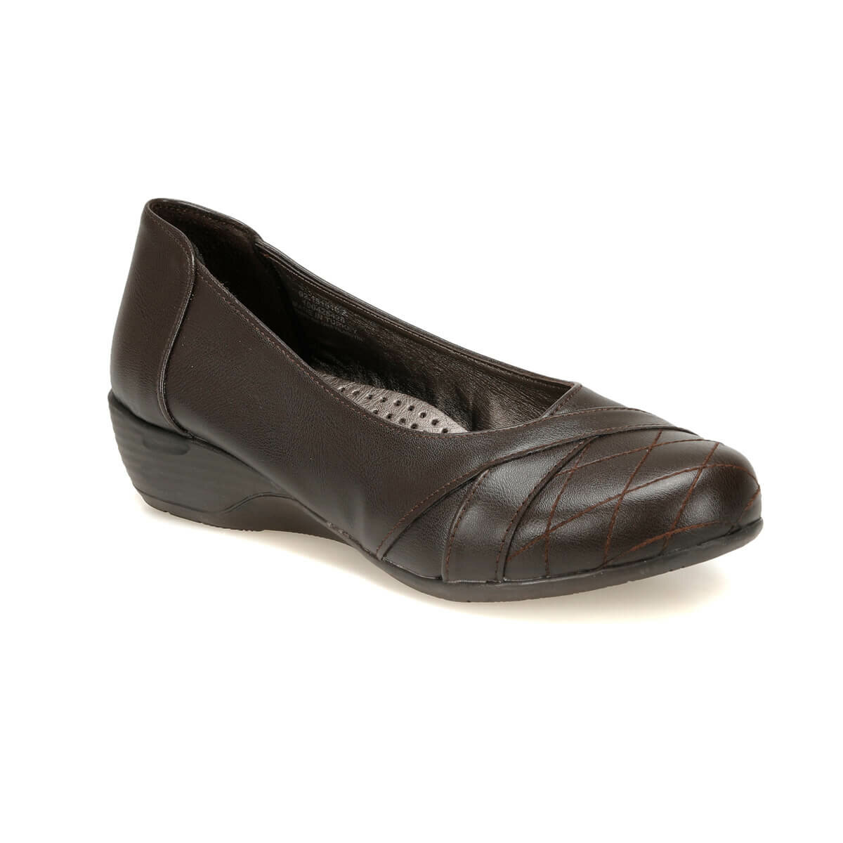 FLO 92.151016.Z Brown Women 'S Wedges Shoes Polaris