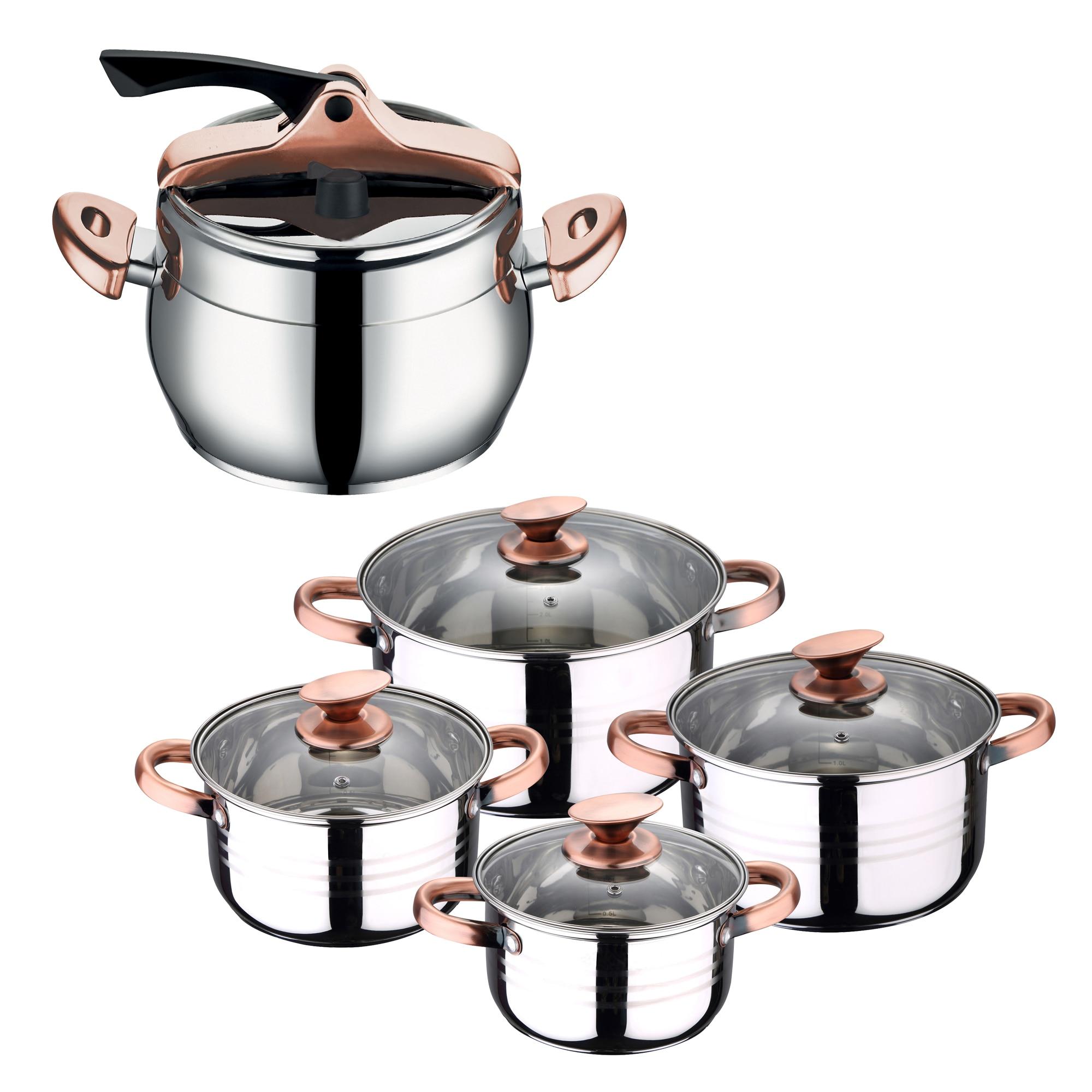 SAN IGNACIO Set Kitchen Batteries And Pot Express