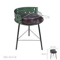 """Barbecue Saturnia """"Chef"""" Round 47x36x56 (H) cm.