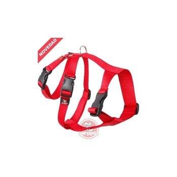 Arnes TRIPLE ARPPE para galgos y podencos rojo