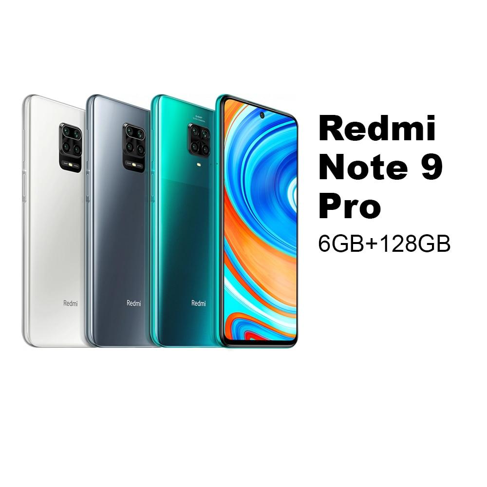 Redmi Note 9 Pro 6GB 128GB Mobile phone Smartphone Cellphone Xiaomi Mi MIUI Android Snapdragon 720G Octa Core 64MP Quad Cameras 6.67