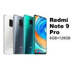 Redmi Hinweis 9 Pro 6GB 128GB handy Smartphone Handy Xiaomi Mi MIUI Android Snapdragon 720G Octa core 64MP Quad Kameras 6.67 Screen 5020mAh NFC WIFI Blth 5,0 30W Schnelle Ladung Dual SIM 27948 27949 27950